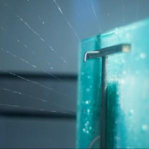 Spraying chamber